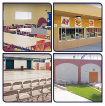 Global Modular, Inc. - Cafeteria / Auditorium Modular Buildings